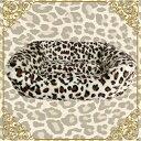 猫 ペッド 犬 ベッド 犬用 猫用 ベッド ペットハウス 冬 小型犬 あったか ベッド 犬 猫 ベッド 犬 猫 ベッド 犬 猫 ベッド 犬 猫 ベッド 犬 猫 ベッド 犬 猫 ベッドペットベッド スクエアタイプ ヒョウ柄(オセロット)アイボリー