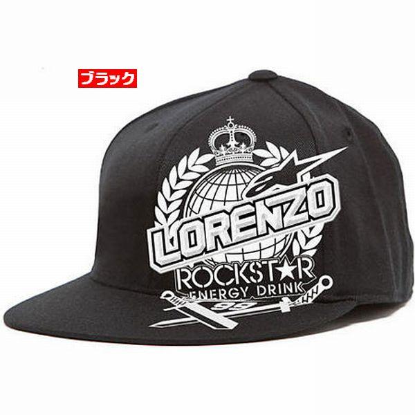Alpinestars (アルパインスターズ) Rockstar (ロックスター) Jorge Lorenzoコラボレート (ロレンソ ロレンゾ ロレンツォ) 210 Hat (ハット キャップ) (数量限定)