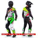 2017 Alpinestars (アルパインスターズ) (オフロード) RACER BRAAP VEGAS LE (レーサーブラーベガス) MXジャージ MXパンツ 上下セット (限定商品の為返品 交換不可商品)