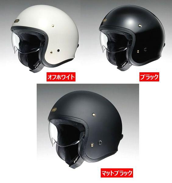 Shoei (ショウエイ) J-O (J.O JO) ヘルメット (インナーバイザー標準装備) (予約商品 2016年4月以降発売予定)