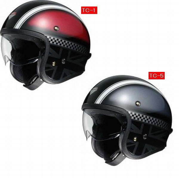 11月24日AM10時-12月1日AM9時59分まで!スマホエントリーと購入でポイント10倍!! Shoei (ショウエイ) J-O (J.O JO) HAWKER (ホーカー) ヘルメット (インナーバイザー標準装備)