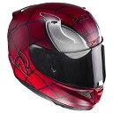 HJC RPFA11 (アルファ11) Spider Man (スパイダーマン) ヘルメット MARVEL (マーベル) オフィシャルグラフィック (HJH111) (受注枠限定商品の為返品 交換不可商品) (予約商品 2017年3月下旬以降発売予定)