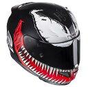 HJC RPFA11 (アルファ11) Venom (ベノム) ヘルメット MARVEL (マーベル) オフィシャルグラフィック (HJH112) (受注枠限定...