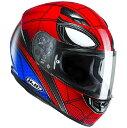 HJC CS-15 SPIDERMAN HOMECOMING (スパイダーマン ホームカミング) ヘルメット MARVEL (マーベル) オフィシャルグラフィック (HJH131) (受注枠限定商品の為返品 交換不可商品) (予約商品 2017年9月以降発売予定)