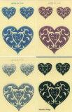 (メール便対応商品) tattoostick jelly 3DステッカーMINI HEART2