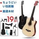 ギター 初心者 アコギ 20点セット 入門 アコースティックギター フォックギター タイプ 新品 初学者 子供 大人 簡単 クラシックギター 子供用 大人用
