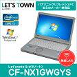 中古ノートパソコン Panasonic Let'snote(レッツノート) CF-NX1GWGYS (Corei5/無線LAN/B5モバイル)Windows7Pro搭載 リフレッシュPC 【中古】【Bランク】