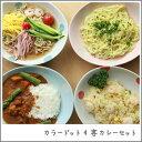 【送料無料】カラードット4客カレー皿セット 和食器 アウトレ...