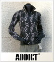 (アディクト) ADDICT ZIP UP TRACK BLOSSOM (JACKET)(G844A-BK) ジャケット アウター 国内正規品