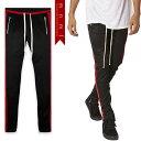(ミニマル) mnml TRACK PANTS BLACK RED (LS:PANTS)(COLOR:BK×RE) ボトムス ロングパンツ トラックパンツ ジャージ ブラック レッド 国内正規品