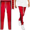 (ミニマル) mnml TRACK PANTS RED BLACK (LS:PANTS)(COLOR:RE×BK) ボトムス ロングパンツ トラックパンツ ジャージ レッド ブラック 国内正規品