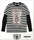 LUCKY13 PARADISE DREAMING LONG SLEEVE TEE (LS:TEE)(COLOR:BK)