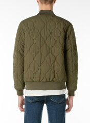 Levi's Thermore Quilted Bomber Jacket 27696: 0002 Olive Night