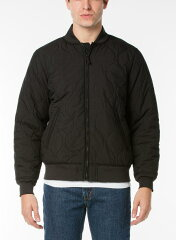 Levi's Thermore Quilted Bomber Jacket 27696: 0000 Black