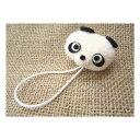 ヘアゴム・ゴムポニー 大人気 パンダさんの ヘアゴム No.056 安心・長持ちの日本製ヘアアクセサリー