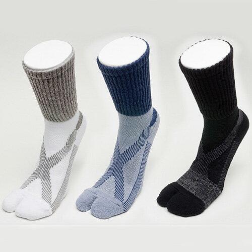 エコノレッグバリエ 紳士用 3足組 歩きやすくて疲れにくい 足袋