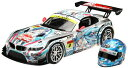 【中古】フジミ模型 1/24 GSR 初音ミク BMW (BMW Z4 GT3) 2012 SUPER GT Rd.2 Fuji (1/8スケール ヘルメット付)