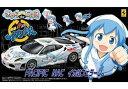 【中古】フジミ模型 1/24 きゃらdeCAR~るシリーズ No.37 侵略! イカ娘/フェラーリ F430 challenge