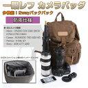 一眼レフカメラバッグ カメラリュック 2wayバックパック インナーバッグ付き 防雨仕様 アウトドア 旅行 通勤 Canon Pentax ◇FAM-CMAG-F5【並行輸入品】