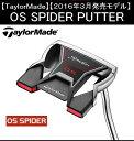 テーラーメイド ゴルフ クラブ パター【TaylorMade】OS SPIDER PUTTERテーラーメイド OS スパイダー パター長さ:33インチ/34インチ付属品:専用ヘッドカバー