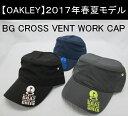 オークリー ゴルフ キャップ【OAKLEY】BG CROSS VENT WORK CAPカラー:BLACKOUT(02E)カラー:SHADOW(20G)カラー:NAVY BLUE(60B)911818JP