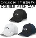 オークリー ゴルフ キャップ【OAKLEY】DOUBLE MESH CAPカラー:BLACKOUT(02E)カラー:WHITE(100)カラー:NAVY BLUE(60B)911823JP