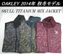 【OAKLEY】オークリー ゴルフ ウェア スカル アウターSKULL TITANIUM MIX JACKETカラー:JET BLACK(01K)カラー:GRAPHITE(00N)カラー:..