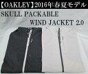 オークリー ゴルフ ウェア スカル ウインドジャケット【OAKLEY】SKULL PACKABLE WIND JACKET 2.0カラー:JET BLACK(01K)カラー:LIGHT GRAY(202)カラー:BARBERRY(41W)