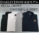 オークリー ゴルフ ウェア スカル クラウン【OAKLEY】SKULL CROWN VOGUISH L/S SHIRTカラー:JET BLACK(01K)カラー:WHITE(100)カラー:STONE GRAY(22Y)カラー:PEACOAT(67Z)