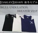オークリー ゴルフ ウェア スカル ベスト【OAKLEY】SKULL UNDULATION SWEA