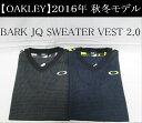 オークリー ゴルフ ウェア ベスト【OAKLEY】BARK JQ SWEATER VEST 2.0カラー:JET BLACK(01K)カラー:NAVY BLUE...