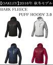オークリー ゴルフ ウェア アウター トレーナー【OAKLEY】BARK FLEECE PUFF HOODY 3.0カラー:JET BLACK(01K)カラー:...