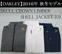 オークリー ゴルフ ウェア スカル ジャケット【OAKLEY】SKULL CROWN LIMBER SHELL JACKET 2.0カラー:BLACK HEATHER(00H)カラー:WHITE(100)カラー:PEACOAT(67Z)412247JP