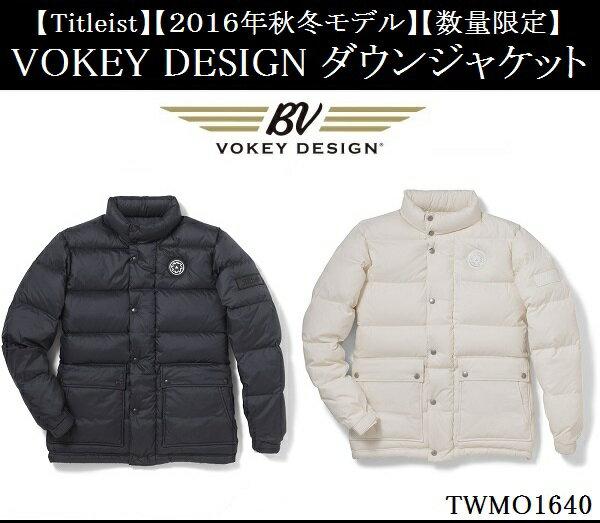 タイトリスト ゴルフ ウェア アウター【Titleist】【数量限定】VOKEY DESIGN ダウンジャケットカラー:ブラック(BK)カラー:オフホワイト(OW)TWMO1640