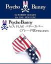 サイコバニー ゴルフ パター ヘッドカバー【Psycho Bunny】A/A FLAG パターカバー(ブレード型)カラー:ネイビー(30)素材:合成皮革原産国:ChinaPBMG6SH6