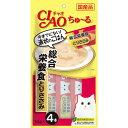 チャオ ちゅ?る 総合栄養食 とりささみ 14g×4本【4901133718861】猫用品/キャットフード・サプリメント/キャットフード ウエットフード チュール/ちゅーる