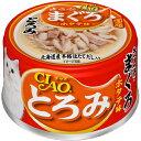 いなば CIAO(チャオ缶) 【とろみ】ささみ・まぐろ ホタテ味(80g)  【4901133061752】猫用品/キャットフード・サプリメント/キャットフード/猫缶