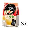 【セット買い】【まとめ買い】【日東紅茶】 厳選果汁のとろける桃 10P×6個