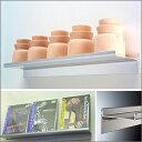 ショップの陳列棚等にもぴったりなシンプルなデザイン取付棚