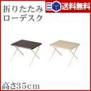 折り畳みデスク ロータイプ NH-FD02【 送料無料 】