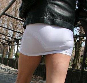 マイクロ スカート コスチューム ホワイト セクシー