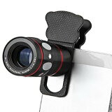 4in1 カメラレンズキット 望遠レンズ マクロレンズ ワイドレンズ 魚眼レンズ クリップ式 iPhone6 iPhone6 Plus iPhone5s iPad Android対応