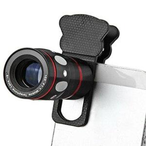 カメラレンズキット 魚眼レンズ クリップ
