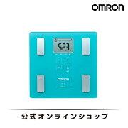 オムロン 公式 体重体組成計 体重計 デジタル 体脂肪率 カラダスキャン ブルー HBF-214-B 期間限定 送料無料