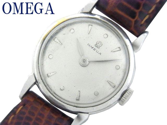 【50年代】オメガ Cal.241 手巻き式 レディース 腕時計 0353【】