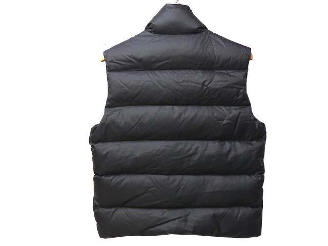 正規品モンクレール チベット ダウンベスト デカワッペン 黒0585【中古】MONCLER メンズ TIBET
