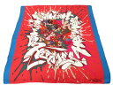 エルメス カレ90 限定 スカーフ シルク100% ルージュピマン ブラン コバルト 0598 【中古】 HERMES
