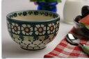 ポーリッシュポタリー ポーランド陶器・ポーランド食器 Ceramika Artystyczna WIZA社ボウル 中 φ10.5cm (W125-25A)