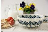 德国buntsurauwa陶器haize陶器碗S (秋牡丹)[ドイツ ブンツラウワー陶器ハイゼ陶器 ボウルS (アネモネ) h227]