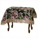ゴブラン織り ピアノカバー ベンチ椅子 ベンチイス フリンジ付
